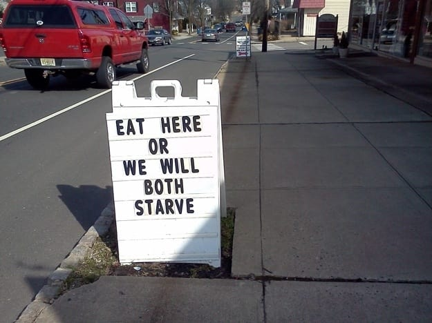 we will starve