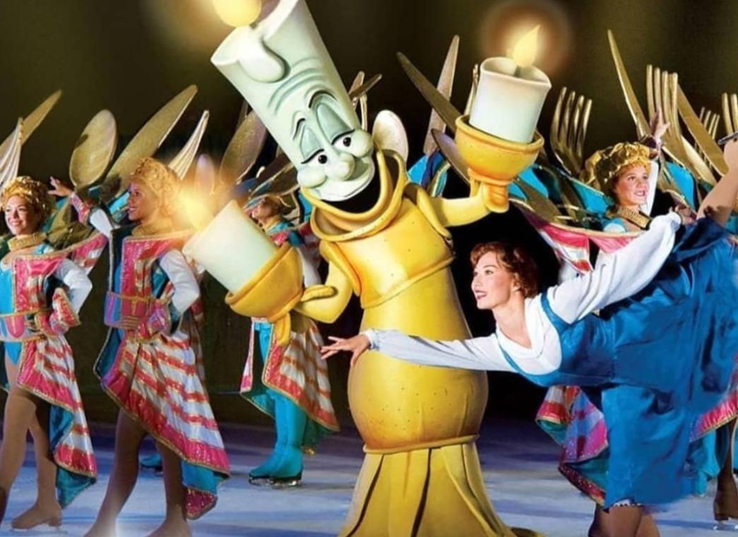 Disney On Ice Performance Poster