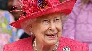 Queen Elizabeth II attends the wedding of Lady Gabriella Windsor and Thomas Kingston