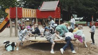 90s kids summer collage