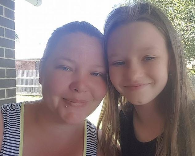 Kyarah Doyle and her mom Jessica Smith
