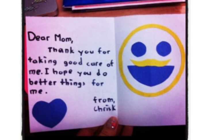 mothers day card you can do better