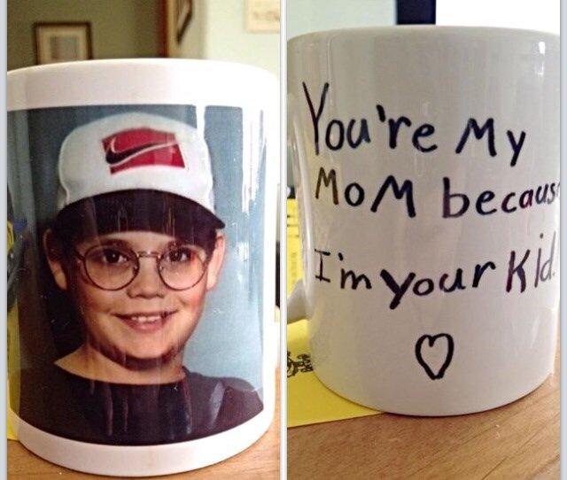 youre my mom because im your kid