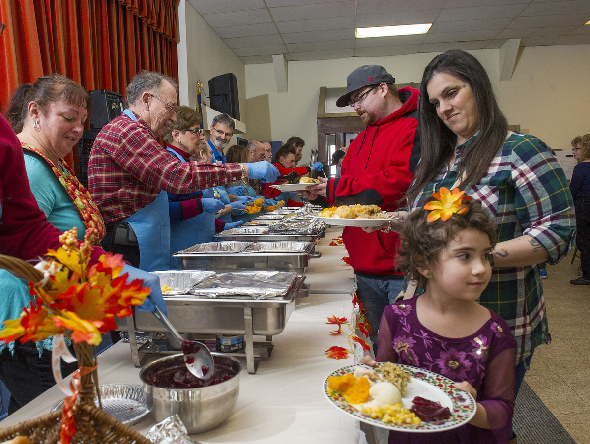 Thanksgiving Dinner in Saco