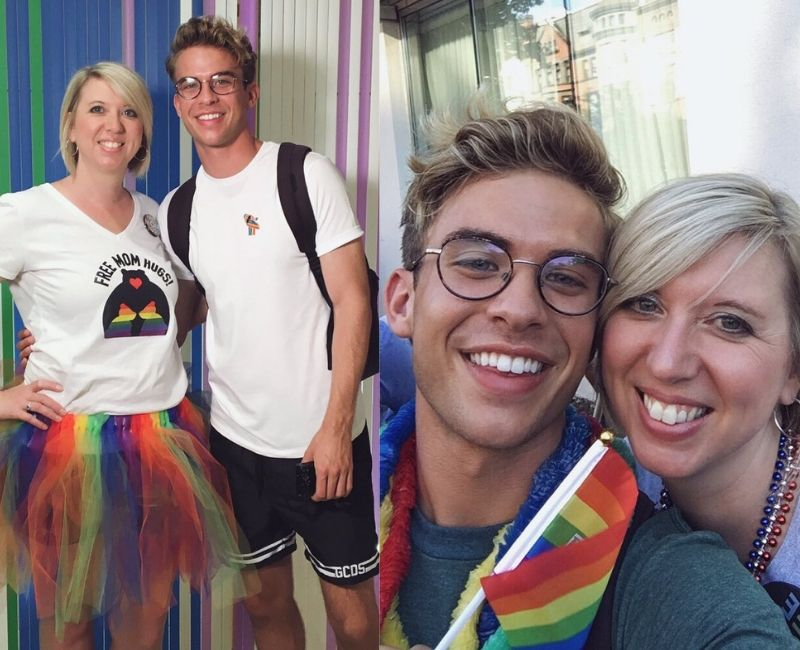 @aaronrhodes pride with mom