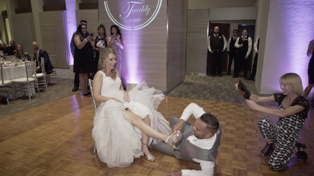 garter removal ipad picture wedding
