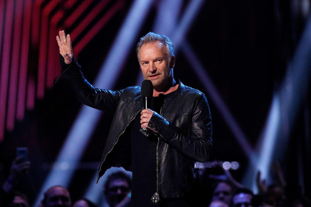 Sting at Juno Awards