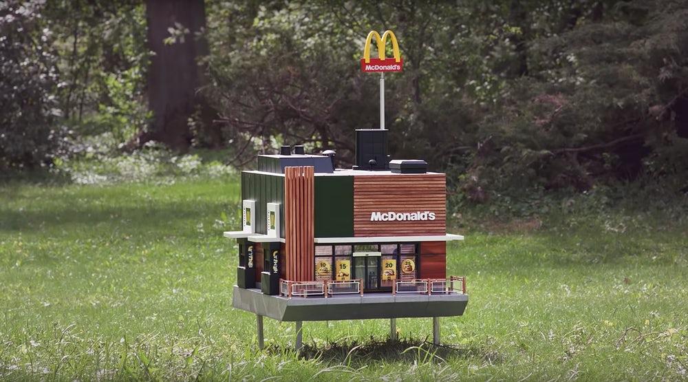 McDonald's McHive in Sweden