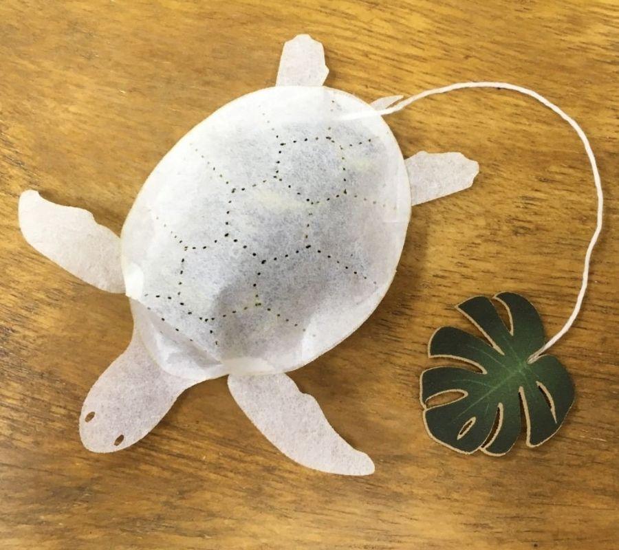 turtle teabag cute ocean creature