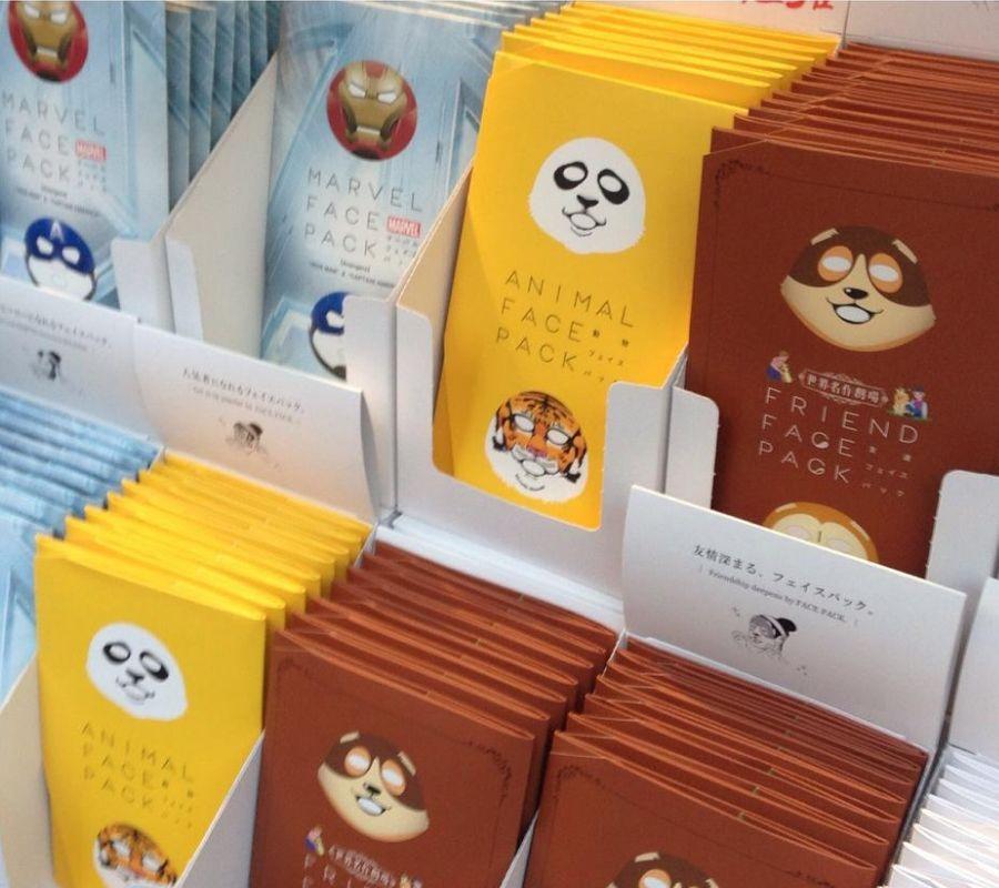 animal face masks cute panda raccoon ironman