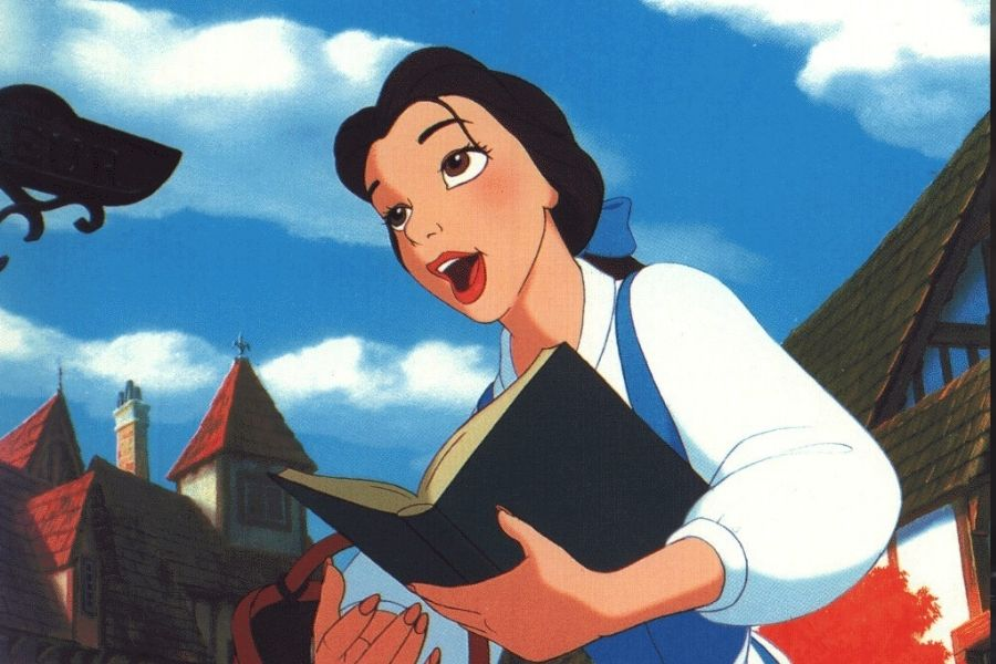 belle singing beauty and the beast