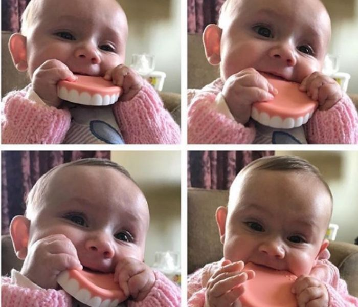 baby soother denture