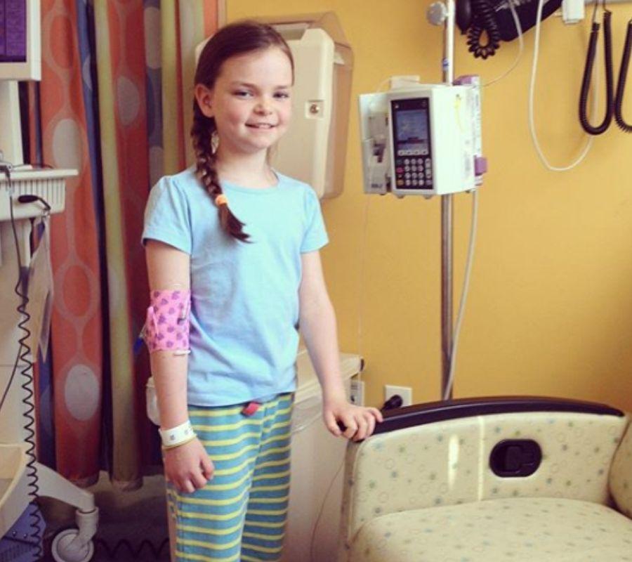 ella casano hospital IV kid bear iv