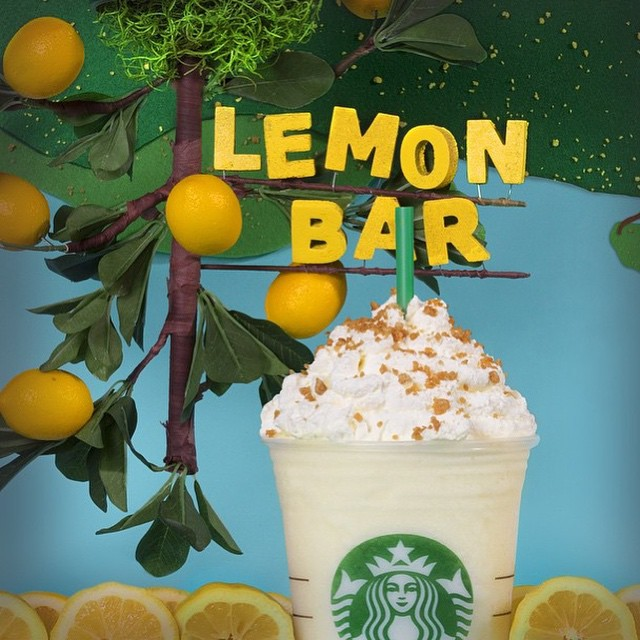 lemon bar frapp starbucks