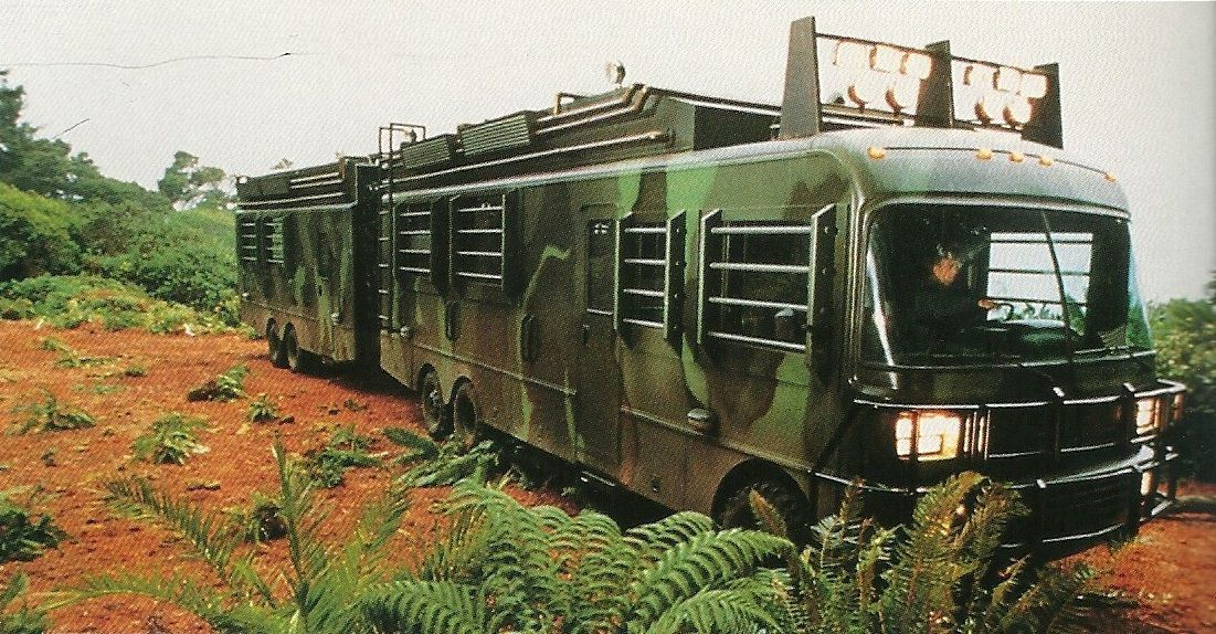 Jurassic Park motorhome