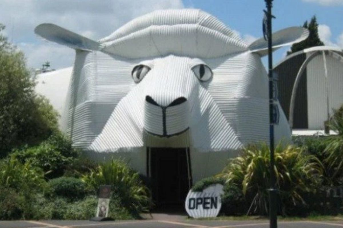 sheep building looks ominous