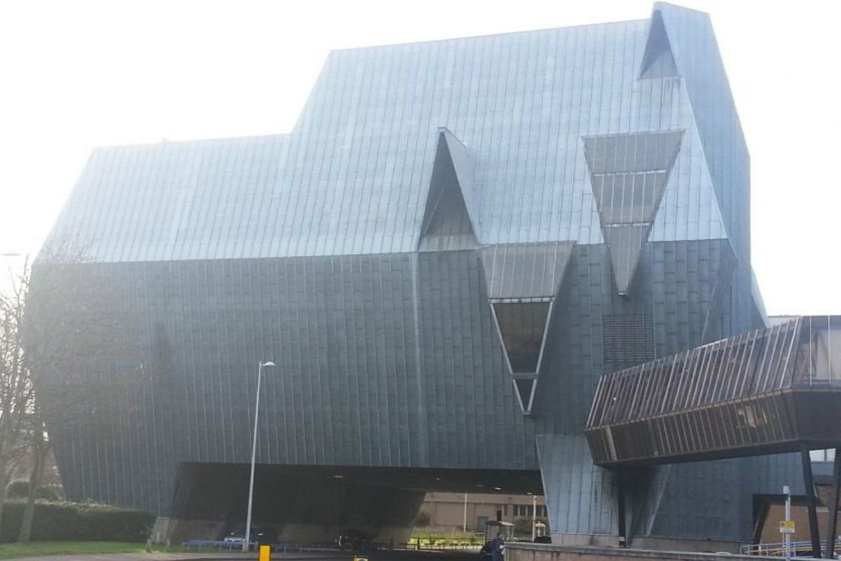 elephant shaped building in coventry leisure center