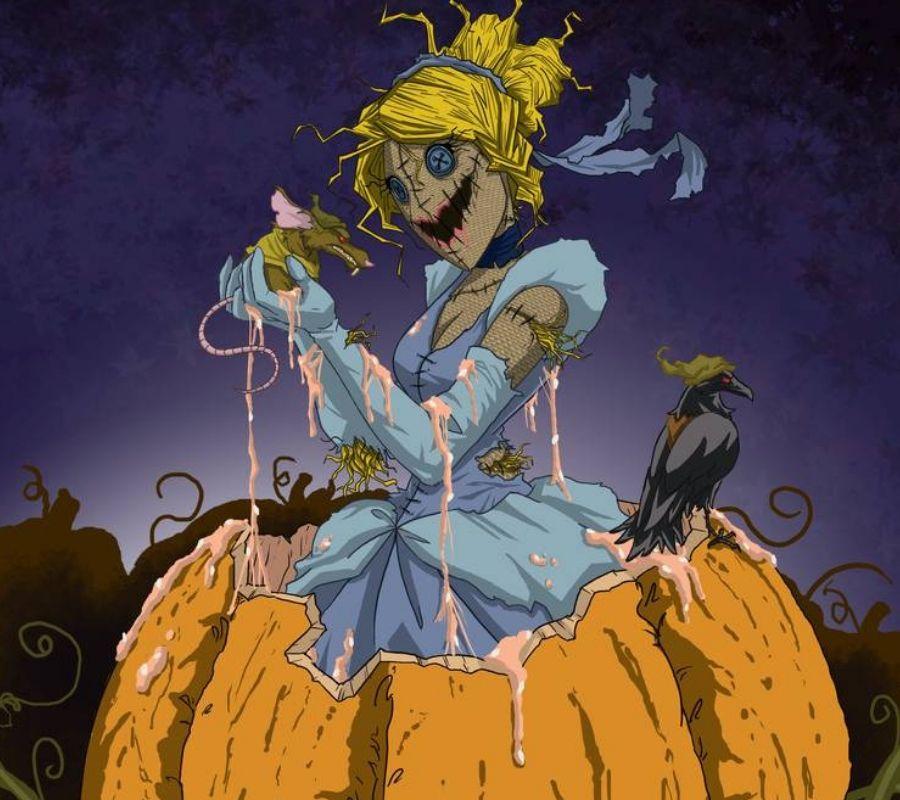 cinderella pumpkin scarecrow creature