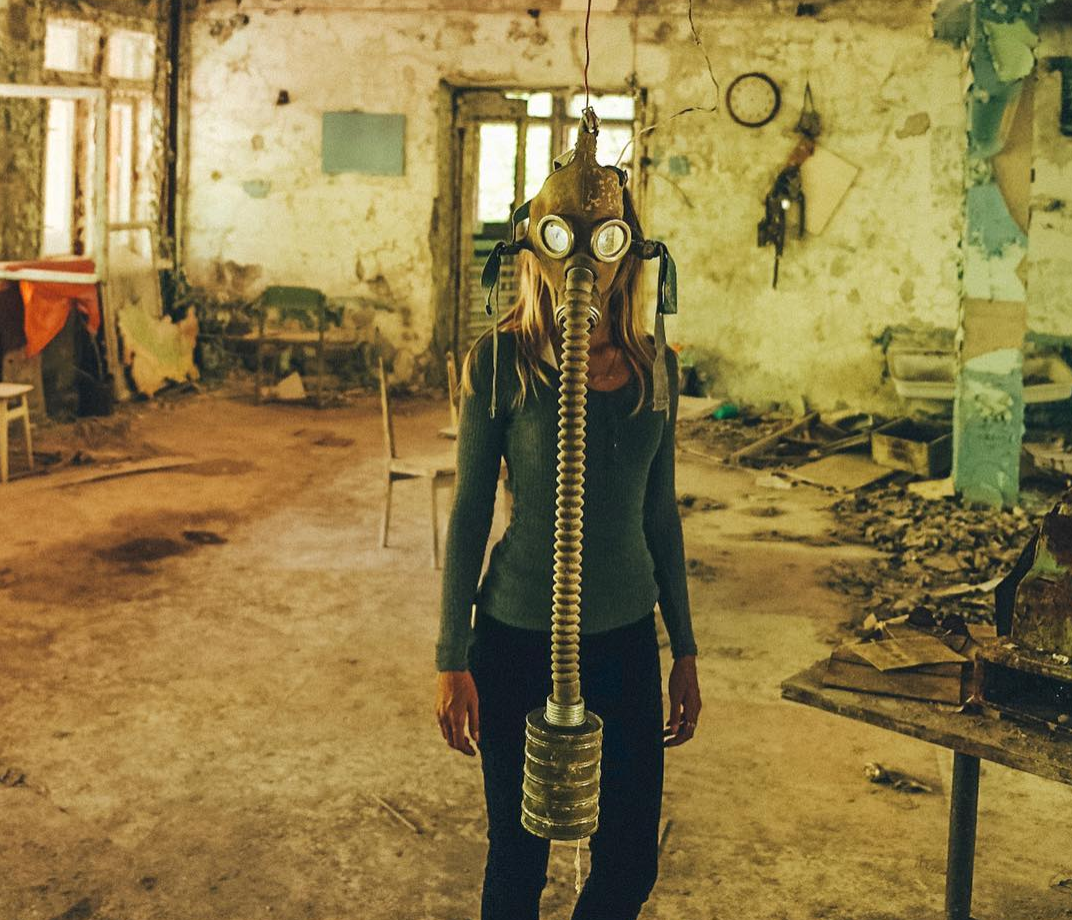 chernobyl exclusion zone Lexie Alford in the ukraine
