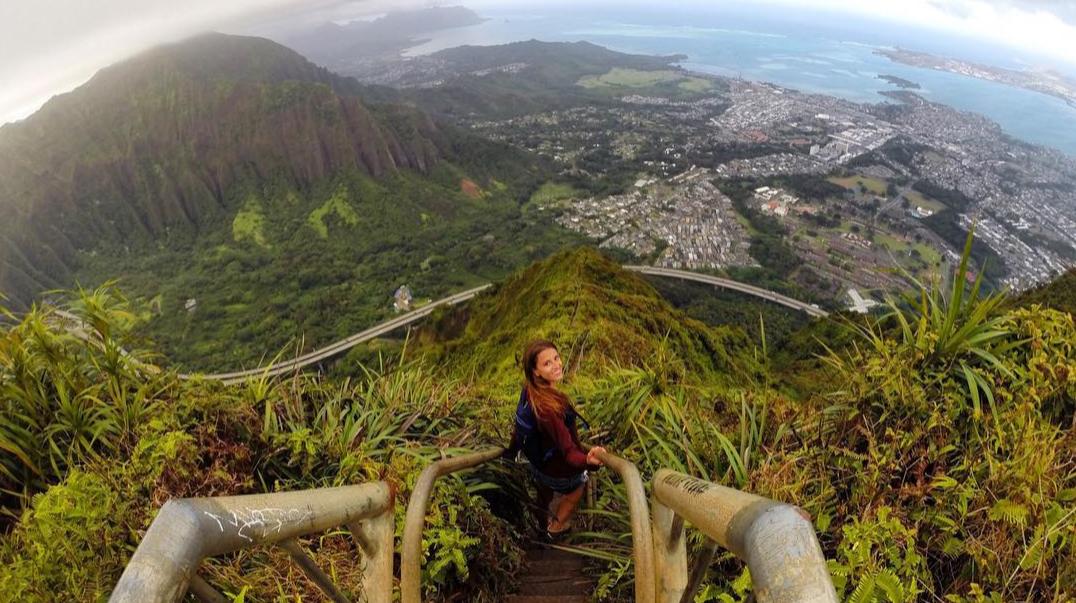 stairway to heaven, Oahu - Lexie Alford