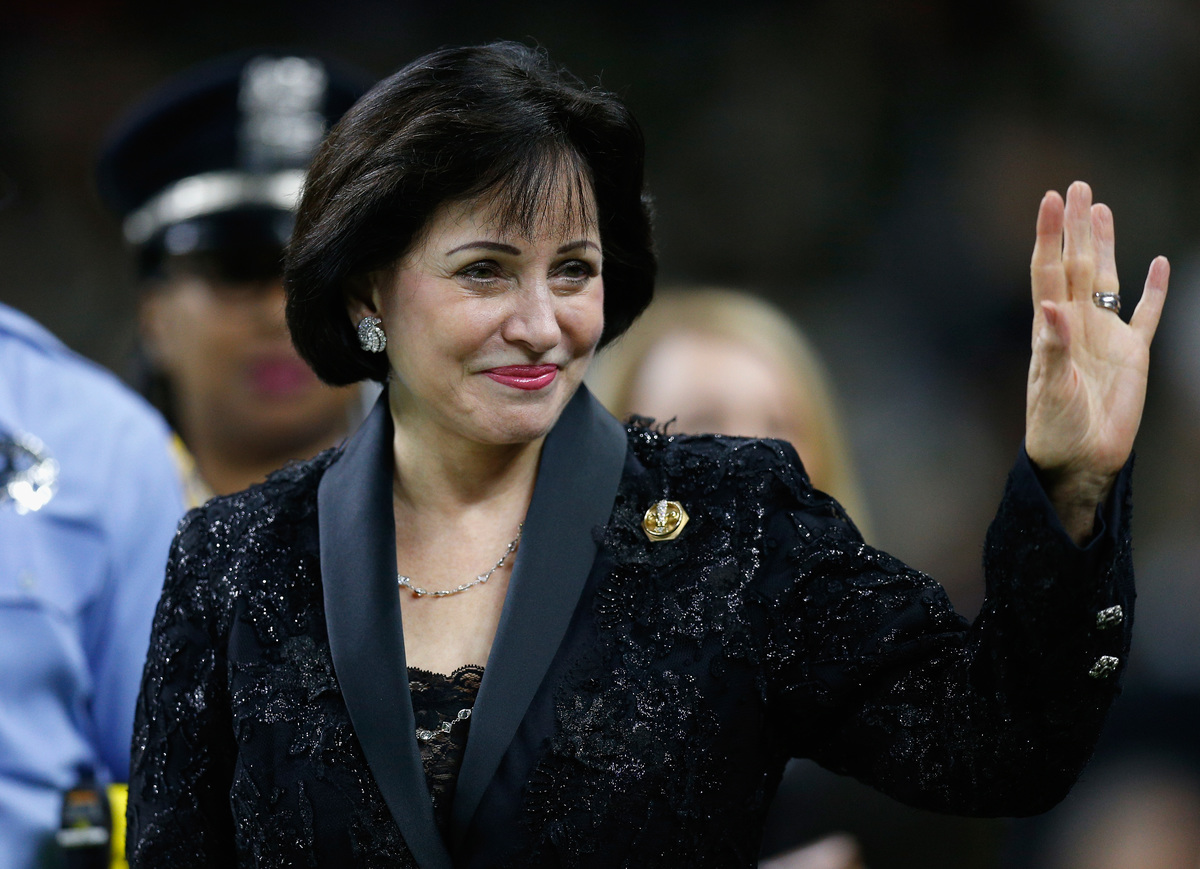 New Orleans Saints owner Gayle Benson