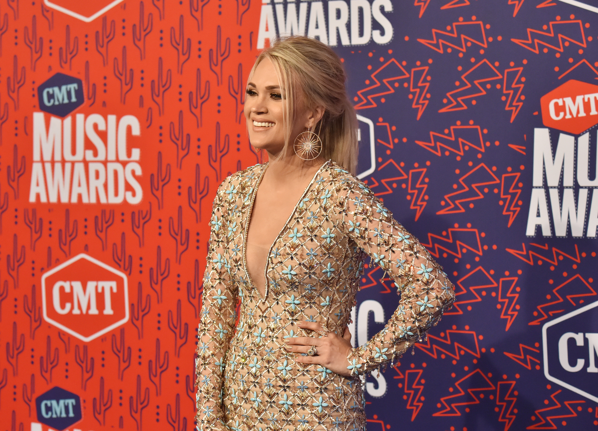 Carrie Underwood CMT 2019