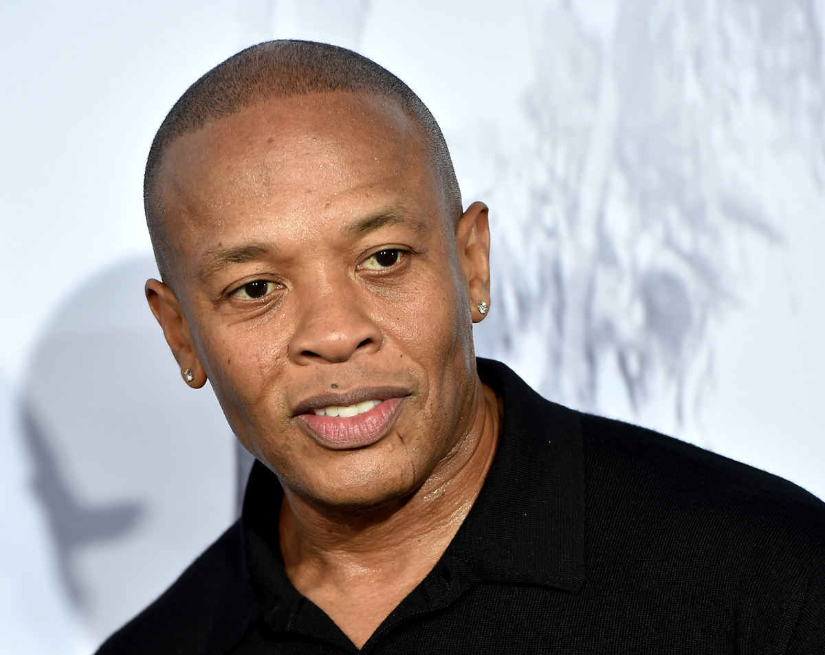 Dr Dre at straight outta compton premiere