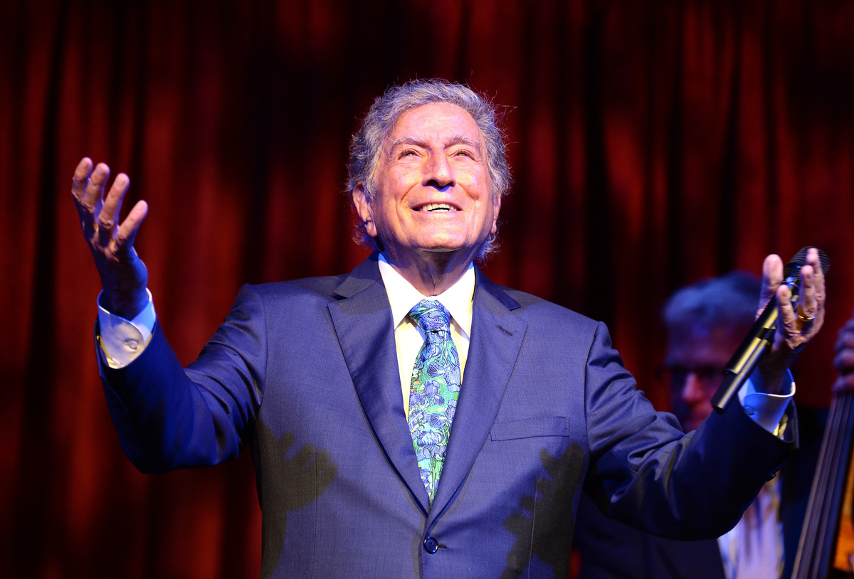Tony Bennett Exploring the Arts Gala 2015 NY