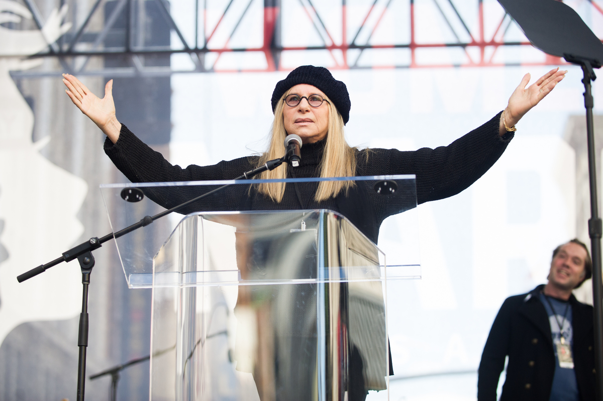 Barbra Streisand Women's March 2017