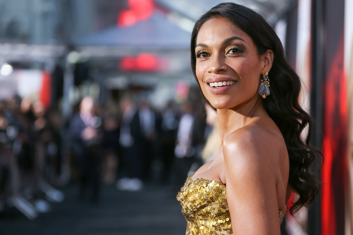 ACtor Rosario Dawson at TCL Chinese Theatre 2017