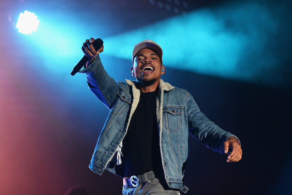 Chance The Rapper at Firefly Music Festival 2017
