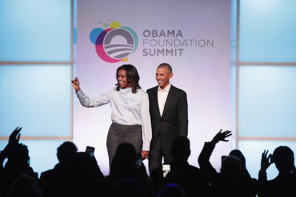 Obama Foundation Summit 2017 former POTUSandFLOTUS