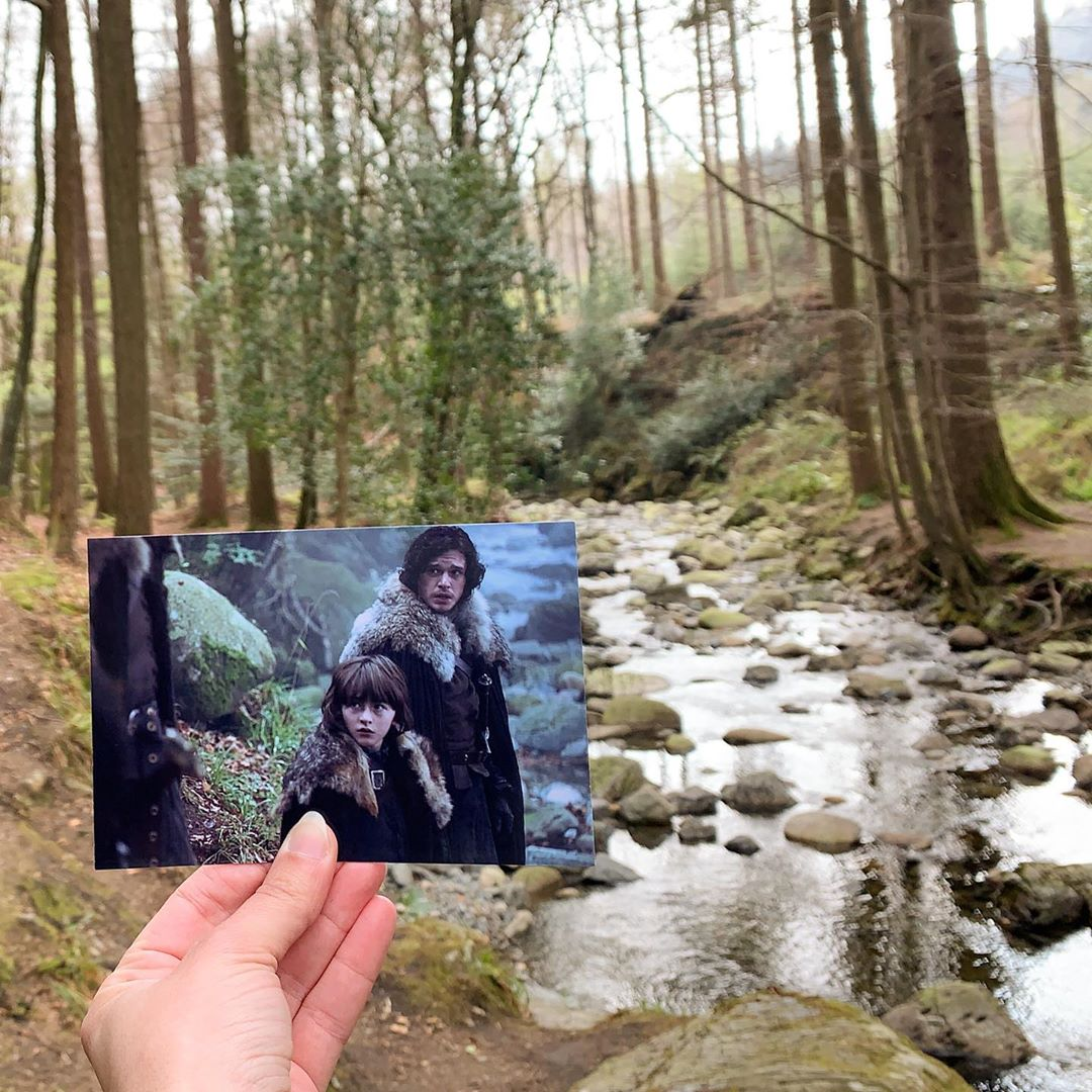 Game of Thrones filming location Tollymore Forest Park Northern Ireland