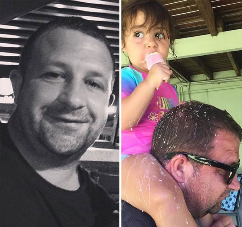 before and after CHILDREN POPSICLE INCIDENT