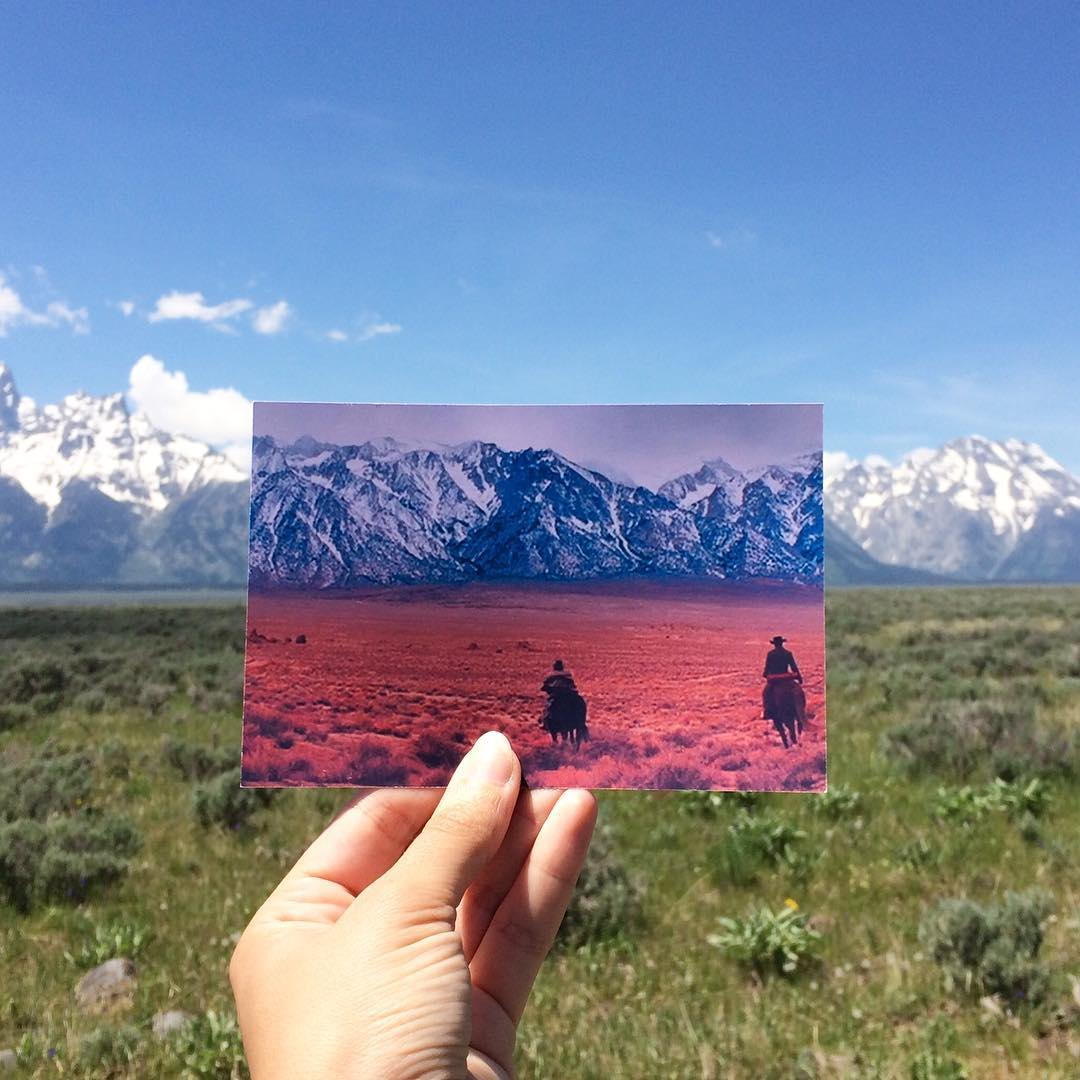 grand teton national park Django Unchained