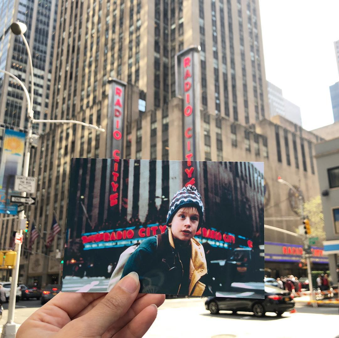 scene from home alone 2 at Radio City Musica Hall