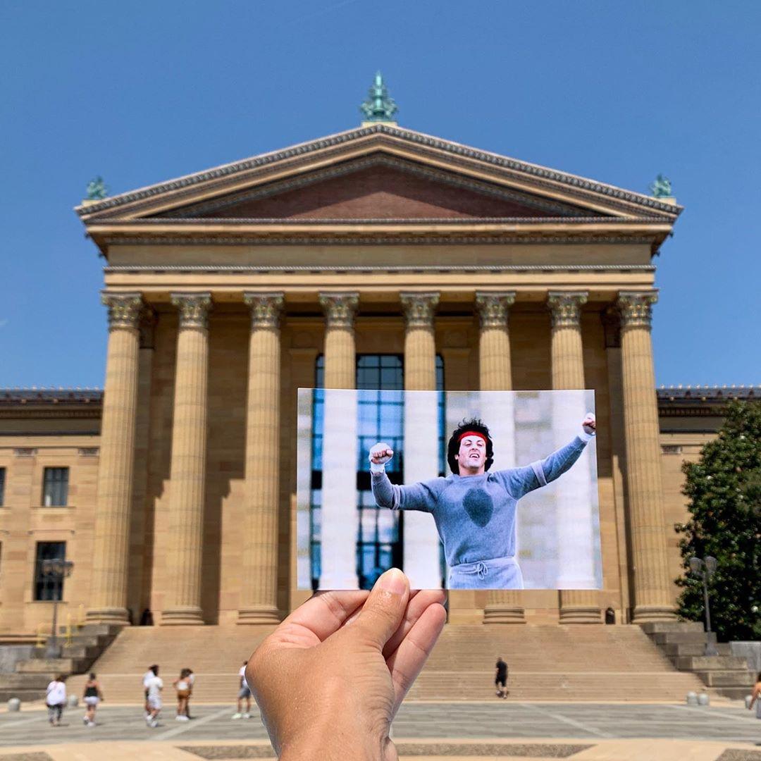 Philadelphia Museum of Art steps from Rocky