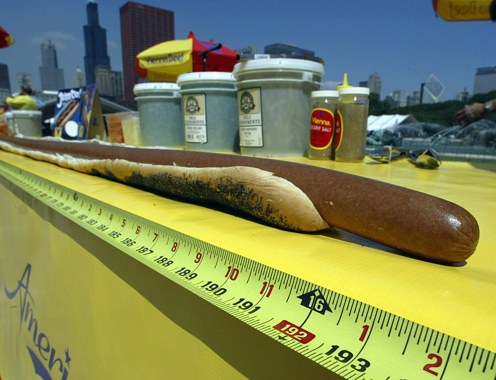 the worlds longest hot dog revealed