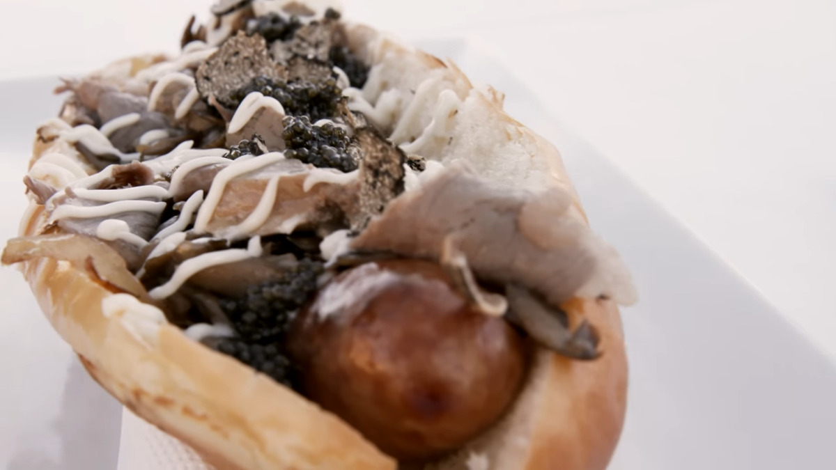 the worlds most expensive hot dog costs 169 dollars