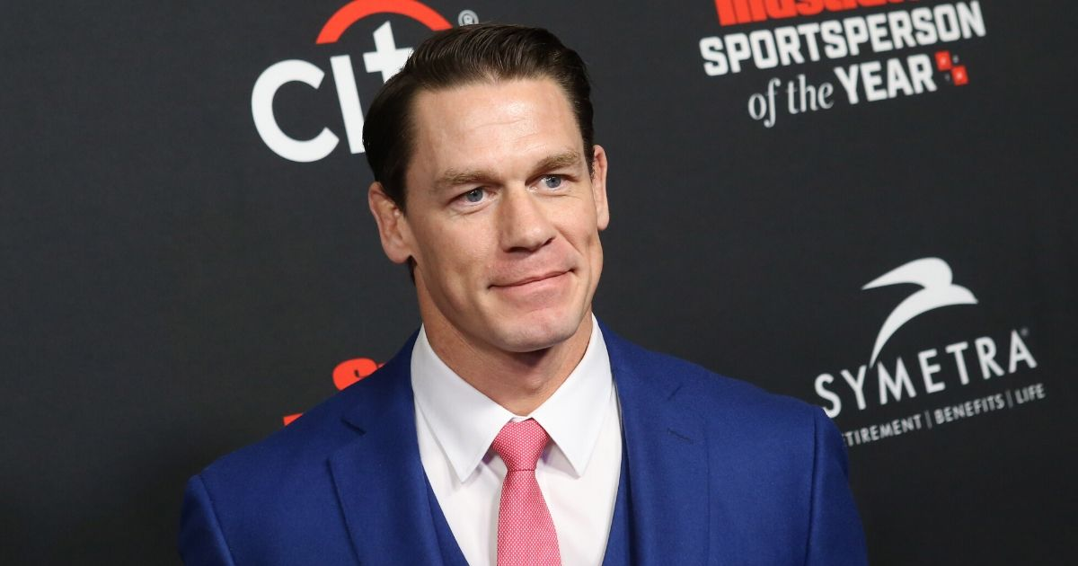 John Cena attends Sports Illustrated Sportsperson of The Year Award