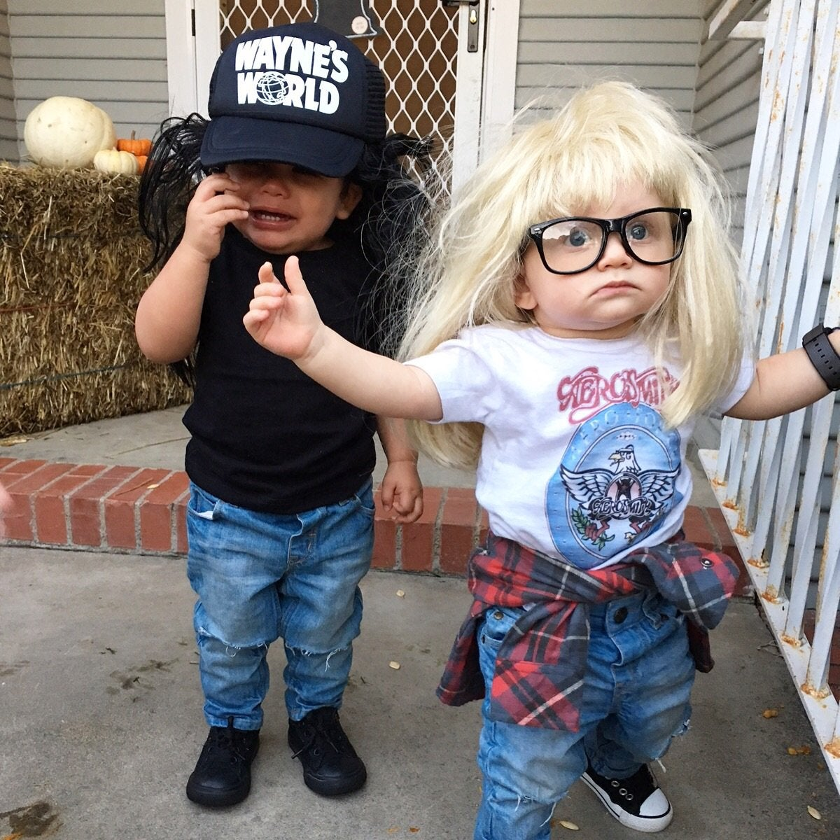 Wayne and Garth babies