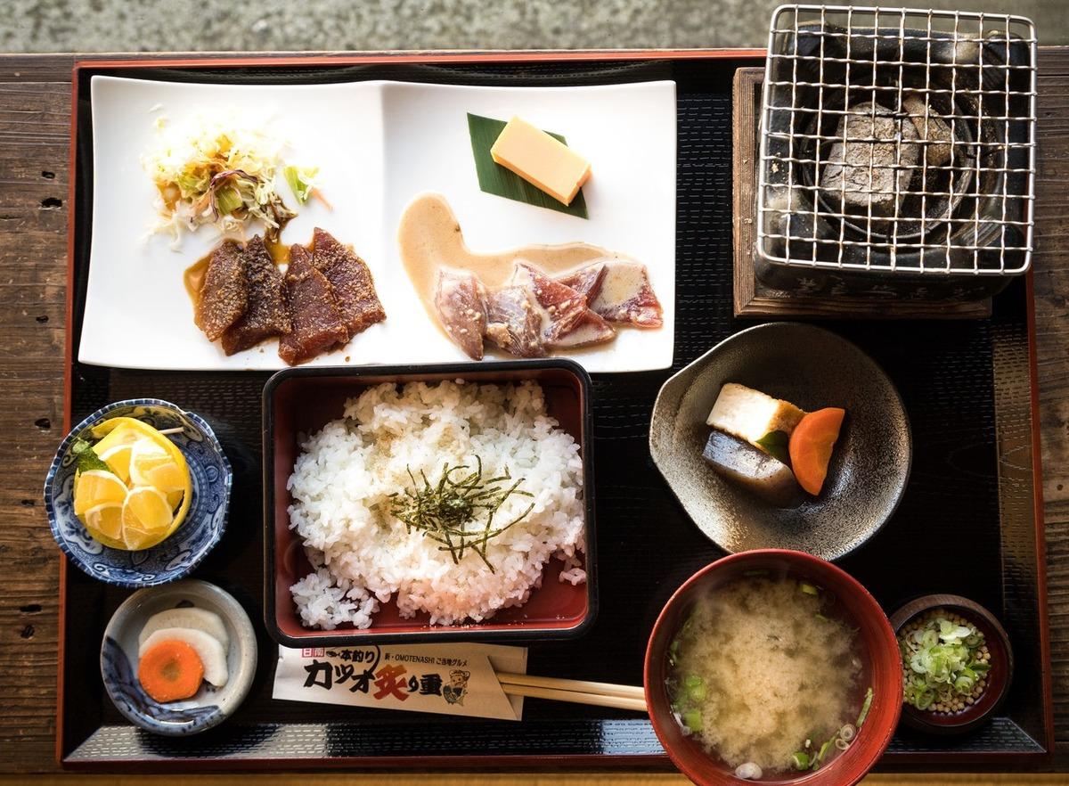 Eat Japanese Food