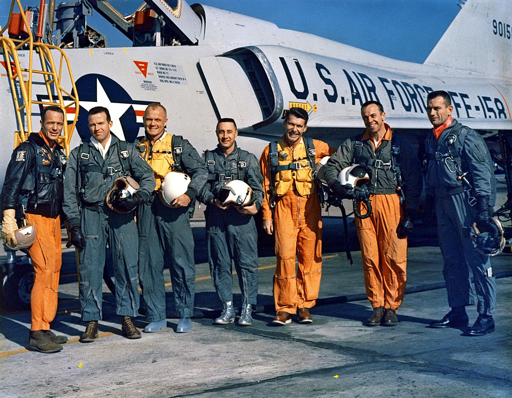 Seven American Astronauts Completed Project Mercury