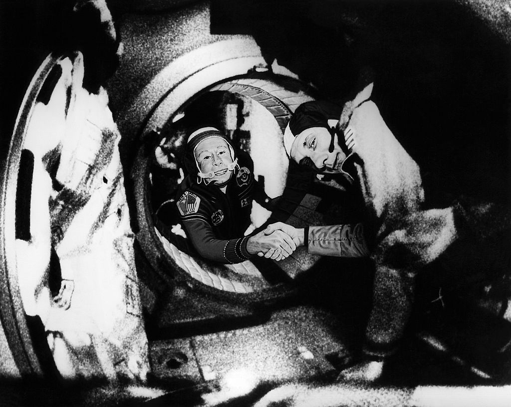 The First Spacewalk Was In 1965