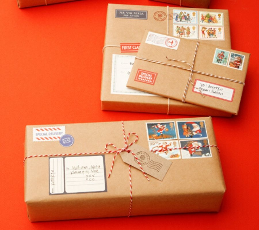 gifts wrapped as packages