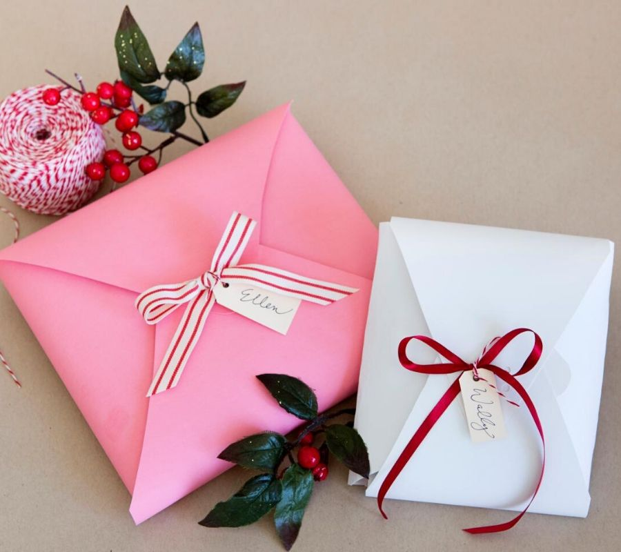 some diy envelopes
