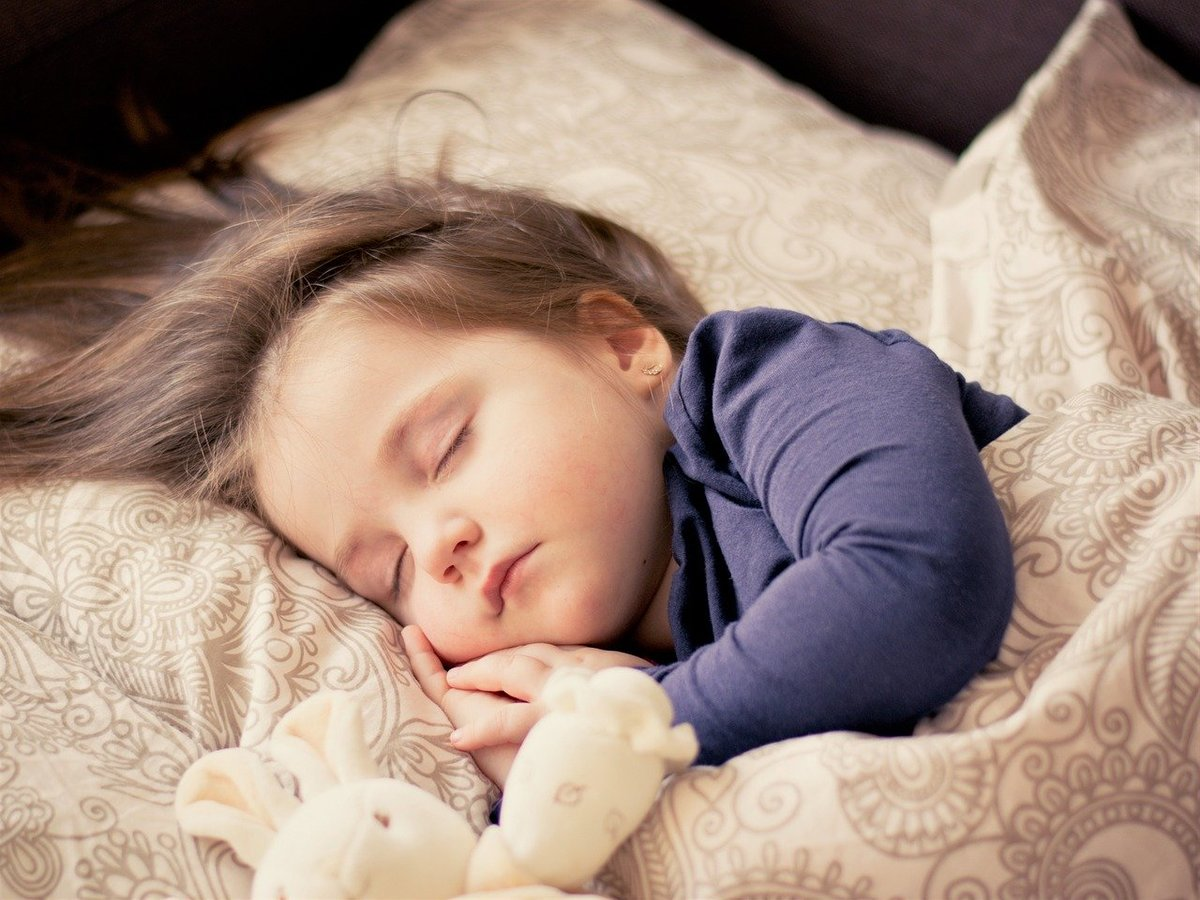 Child sleeping late