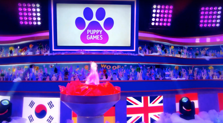 puppy games olympics