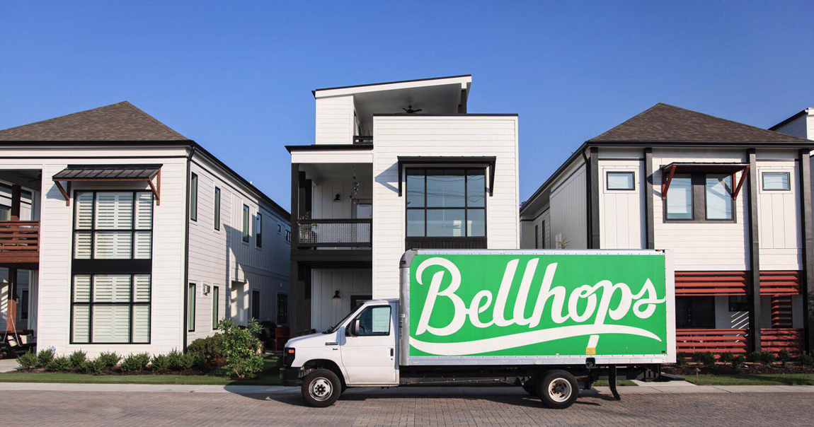 the truck of bell hops