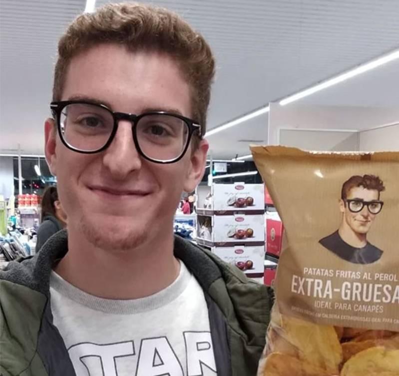 man-looks-like-potato-chip-bag-cartoon